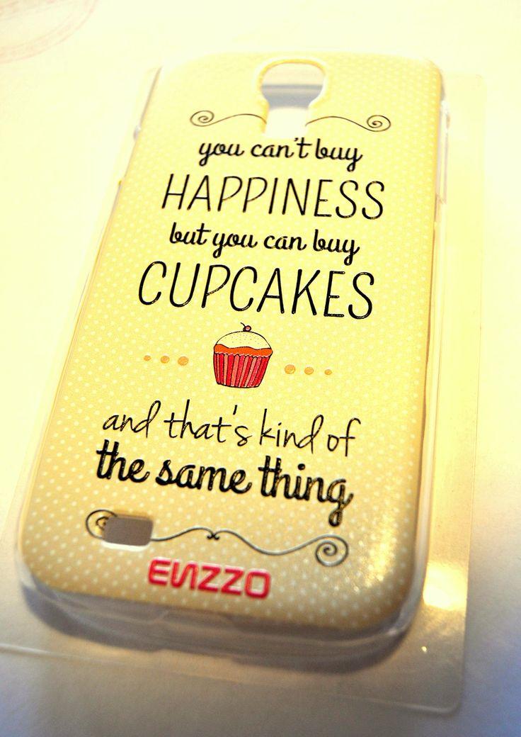 Samo życie. Szczęścia nie można kupić, ale babeczki już tak! Etui w sam raz dla miłośników słodkich przyjemności ;)
