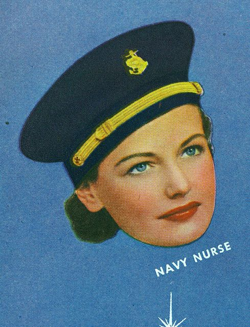 WWII US Navy Nurse, 1943 ~