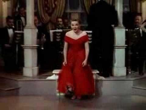 """Judy Garland, I Don't Care. """"They say I'm crazy, got no sense..."""""""