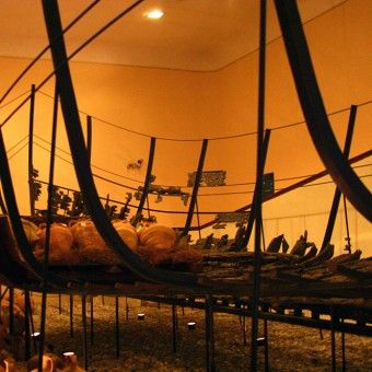 Bodrum Castle Museum, Sunk Ship Exhibition (Photo: INA).