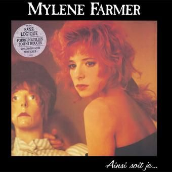 Mylene Farmer Pochette album Ainsi soit je...