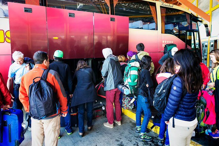 taking the bus from punta arenas to puerto natales puerto natales chile travel tips