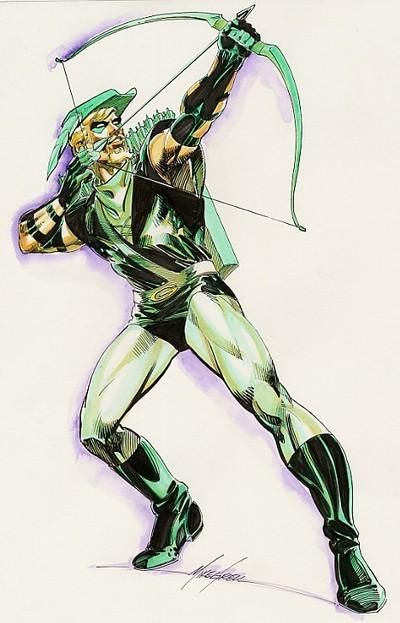 Green Arrow -- Mike Grell - The Master!