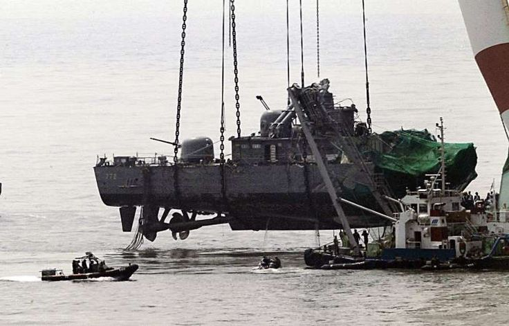 March 26,  2007: SOUTH KOREAN NAVY CORVETTE IS TORPEDOED  -    A South Korean navy corvette Cheonan is torpedoed killing 46 sailors onboard near the dispute Yellow Sea border. North Korea was held accountable after an international investigation.