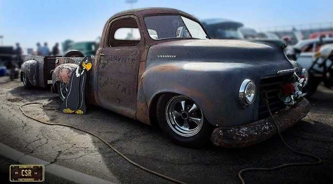 The Roadkill Customs 1949 Studebaker Shop Truck Studebaker Trucks Shop Truck Studebaker