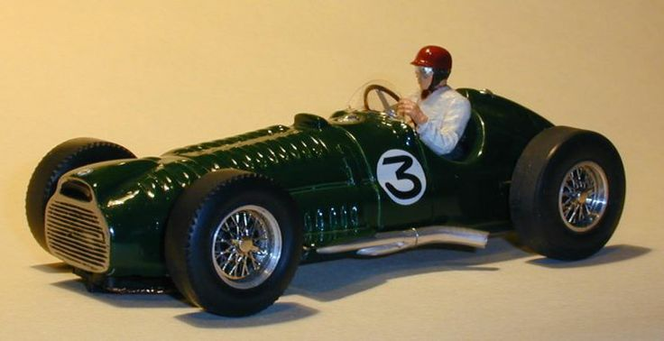 BRM V16 1-32nd scale slot car by Mark Gussin