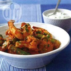 Milk Coconut Prawn Curry @ allrecipes.com.au
