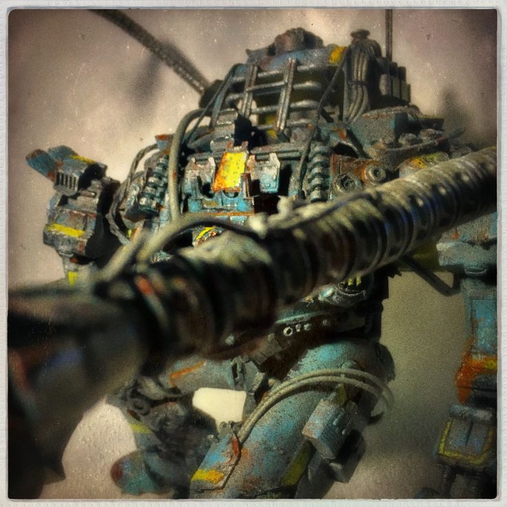 ArtStation - Blue Baby, Blood Fuel Custom Mech Kit-bash, Custom Toy, Articulated Sculpture, Hand painted and weathered, Created and Designed by Caleb Prochnow, concept design, visual development