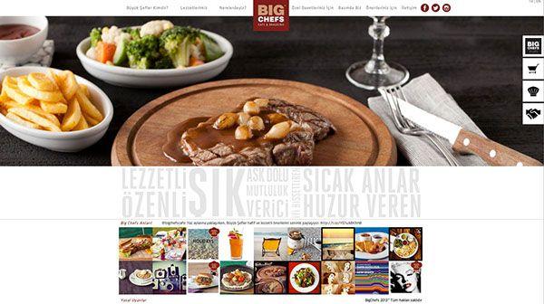Big Chefs web sitesi