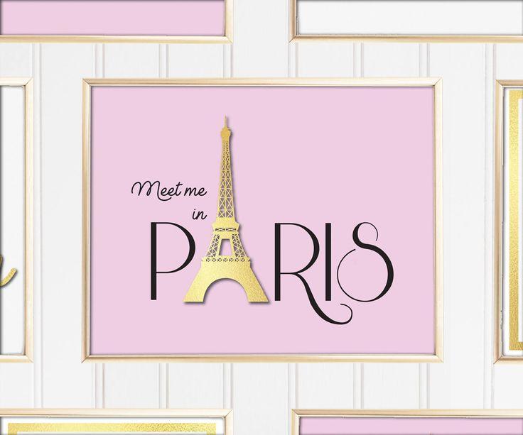 Un favorito personal de mi tienda de Etsy https://www.etsy.com/es/listing/558258695/meet-me-in-paris-printable-art-france