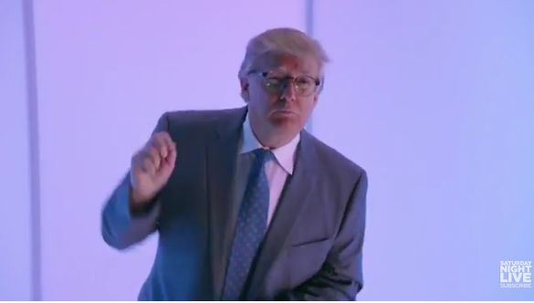 Watch Donald Trump Parody 'Hotline Bling' on SNL and Try Not to Cringe