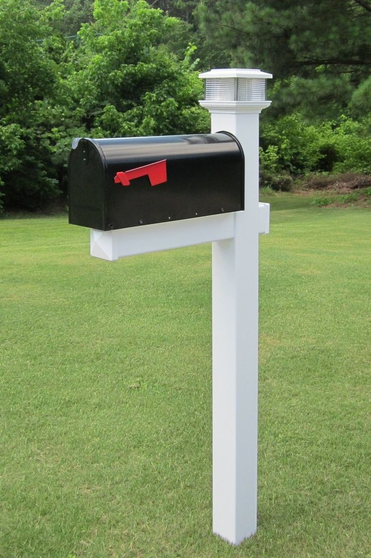 44 Best Vinyl Mailbox Posts Images On Pinterest Mailbox