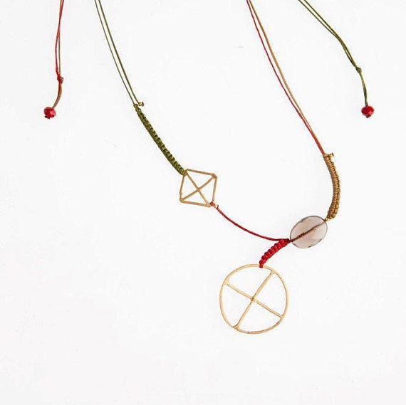 necklace gold plated necklace near neck by paraskevijewels on Etsy