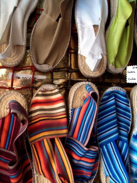 Casa Hernanz, near the Plaza Mayor, sells the best espadrilles in Madrid.