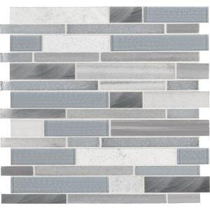 Msi Harbor Gray 3 In X 9 8mm Gl Wall Tile 8 Sq Ft