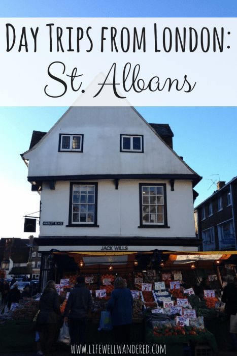 Just 30 minutes away from central London by train, St. Albans makes a perfect getaway from the hustle and bustle of the capital city. If you love history, ancient Rome, and a cute market town, then St. Albans is the place for you!
