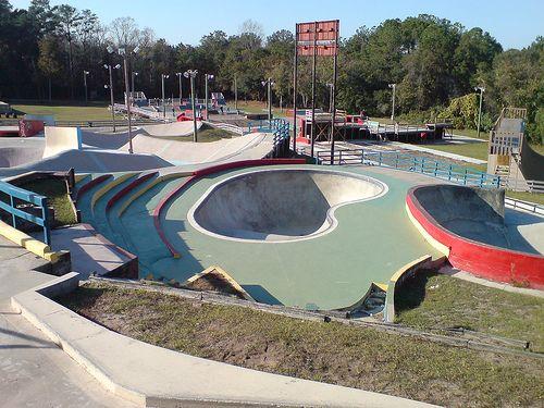 famous skateparks worldwide - Google Search