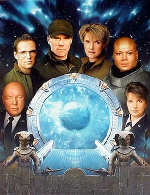 Stargate SG1 - used to love watching this.