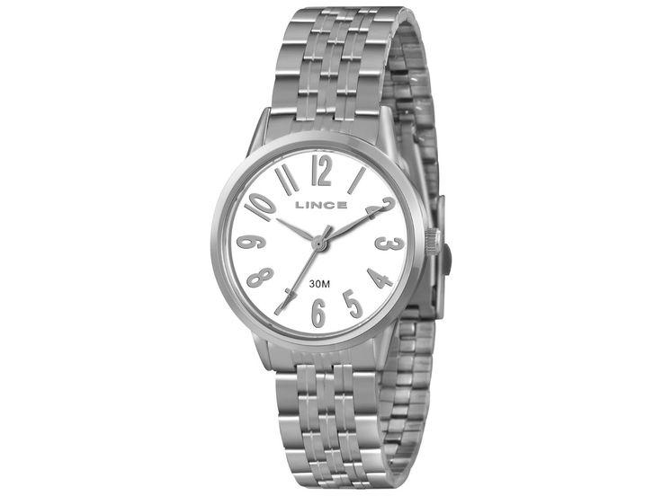 Relógio Feminino Lince Analógico - Resistente à Água LRM4295L - Relógios Femininos - Magazine Luiza