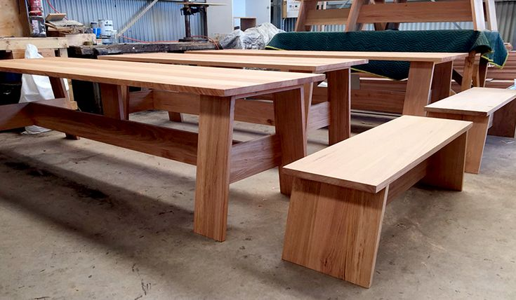 solid timber dining table Sydney