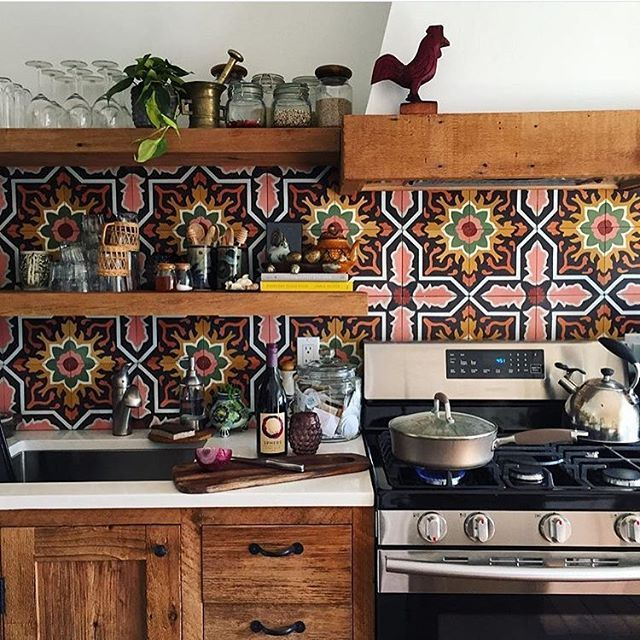 Cottage Kitchen Angeles: 1000+ Ideas About Bohemian Kitchen Decor On Pinterest