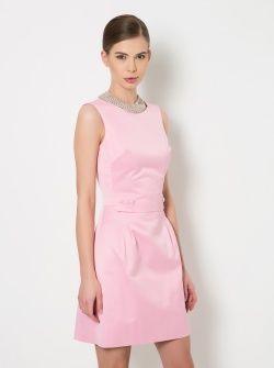 Pembe Mini Elbise