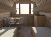 Family Camping Pods for Glamping and Camping