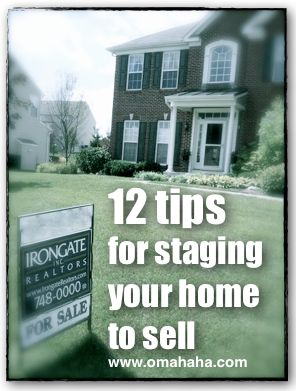 12 tips for staging your home to sell