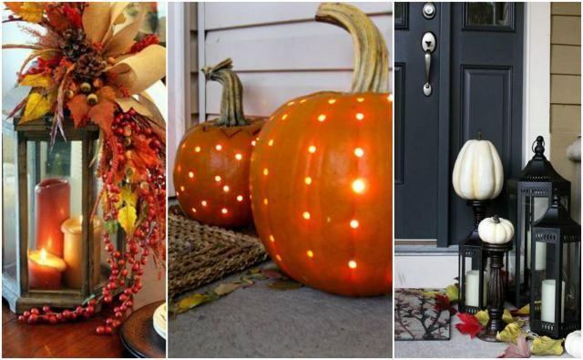 Jak ocieplić wnętrze jesienią? - Zastosuj lampiony
