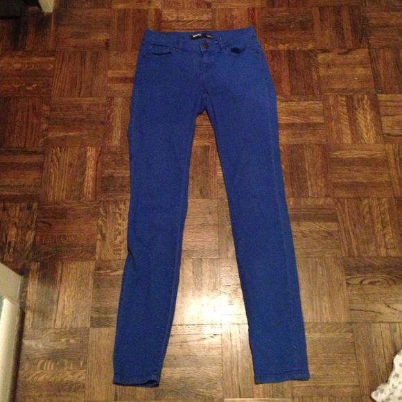 jeans bright blue cobalt jeans great for anytime of the year BDG Pants Skinny