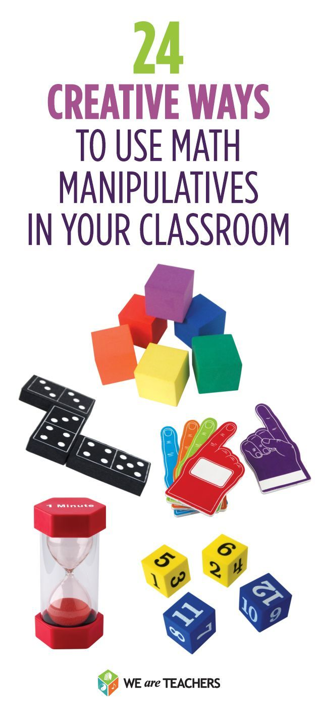 Creative ideas for using math manipulatives for elementary classroom teachers.  Lots of math lesson ideas here.