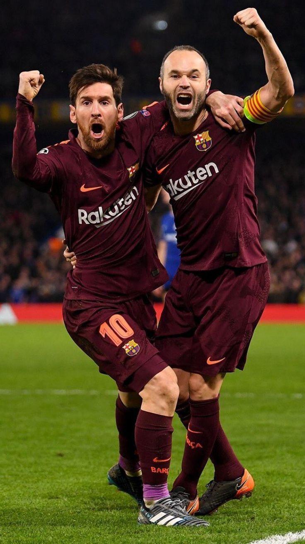 Messi and inestia