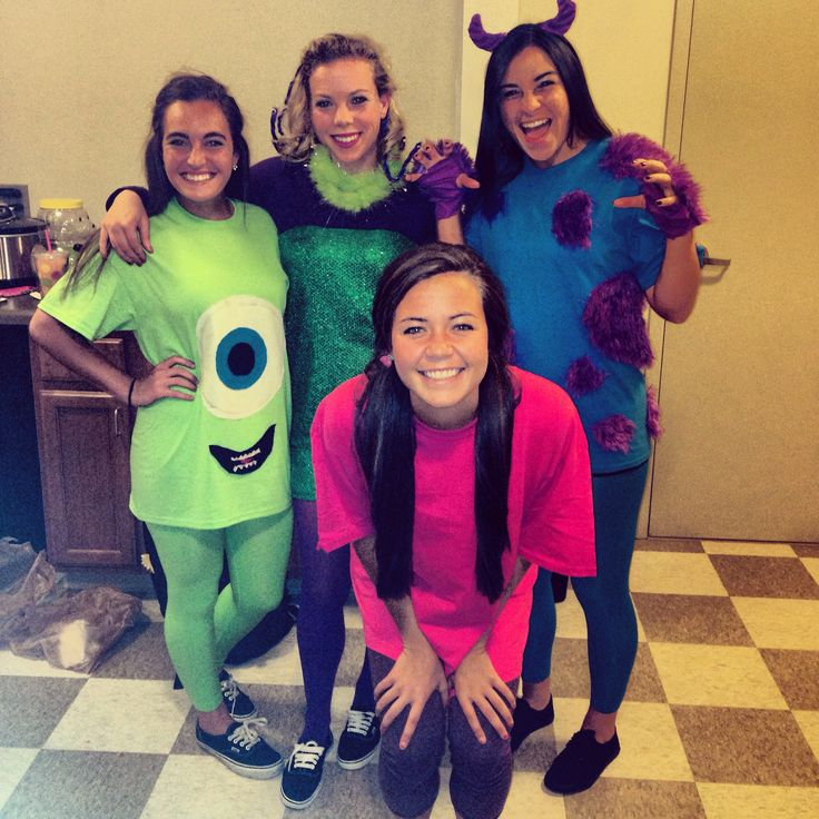 Monster Inc group costume