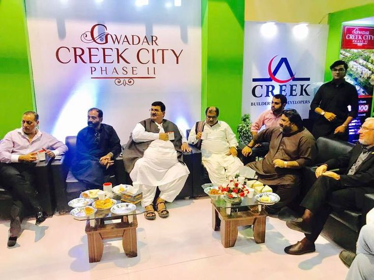 PITF 2017 Expo held at Expo Center Karachi  Stall Of : -Creek Group Gwadar / Indus Holdings