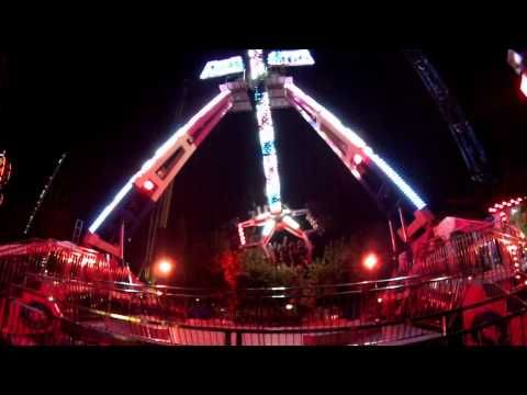 Για αδρεναλίνη στο κόκκινο νέο Freestyle xtreme ride στο Allou! Fun Park