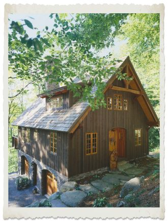 17 best images about garage ideas on pinterest timber for Rustic timber frame homes