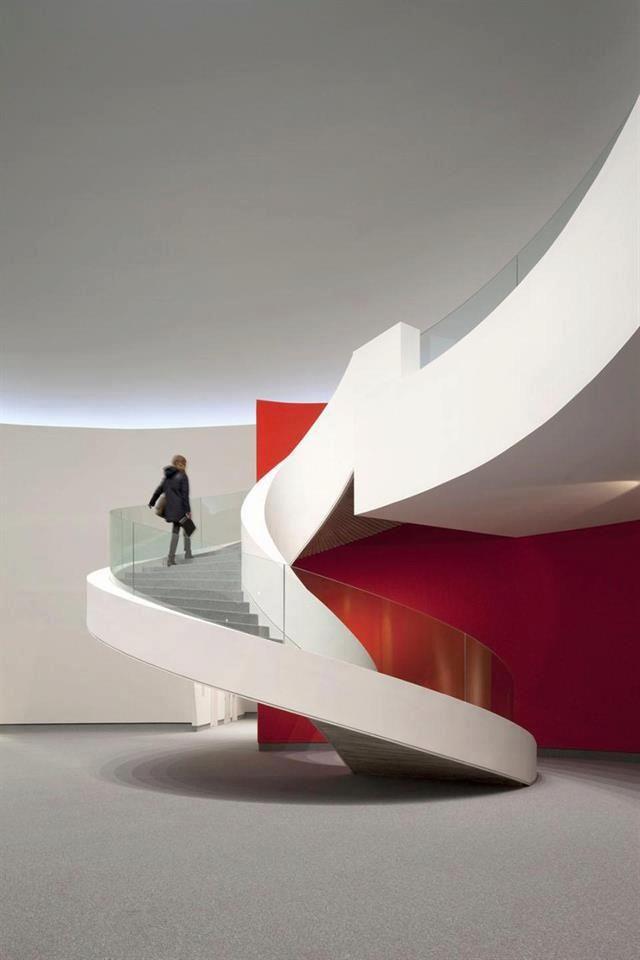 Niemeyer Center, Aviles, Spain, 2011, by Oscar Niemeyer