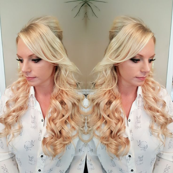 10 best southern belle beauty loves hair extensions images on half up half down wedding hair using our halo style hidden crown hair extensions in 20 pmusecretfo Gallery