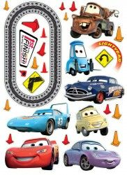 cars sticker by fantastick wall art  #fantastick #onyourwall #wallart #sticker #home #deco #disney