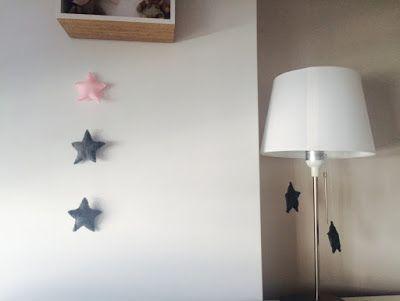 DIY: Gwiazdki z filcu