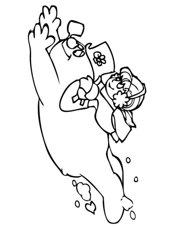 Karen And Frosty The Snowman Coloring Pages Cooloring
