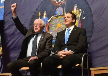 03 Jan '17:  Alongside Bernie Sanders, N.Y.'s Gov. Andrew Cuomo Announces First-in-Nation Free Tuition Plan | Truthdig