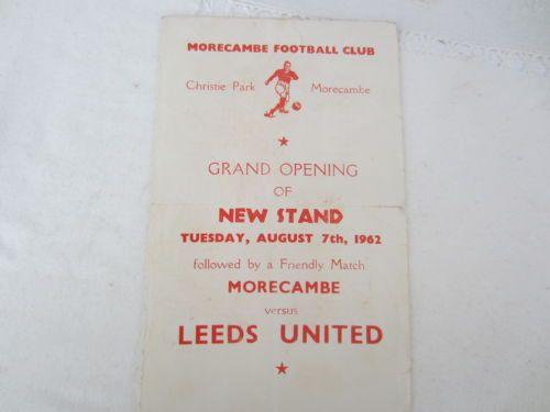 1962-63-RARE-FRIENDLY-MORECAMBE-FC-v-LEEDS-UNITED