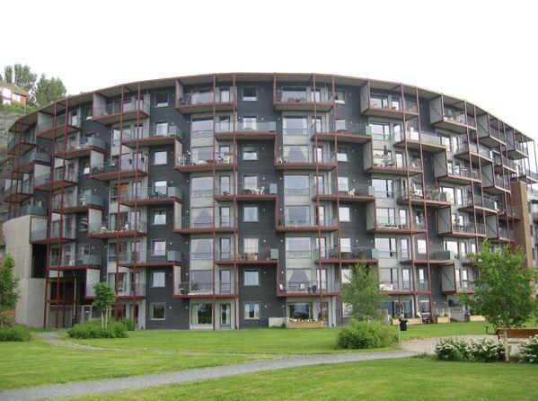 Bergheim boliger (2001) – ARC arkitekter