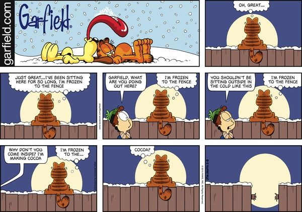 Garfield for 2/8/2015 | Garfield | Comics | ArcaMax Publishing