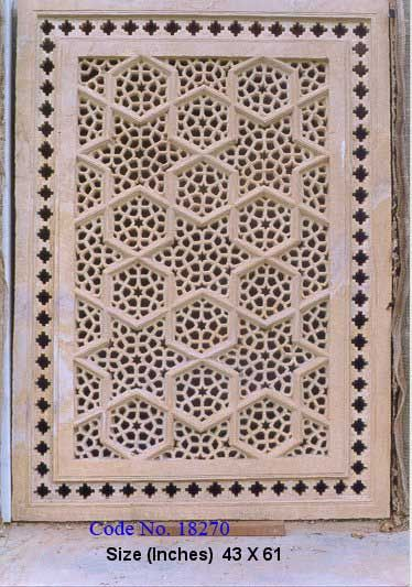 its best of marble sand stone window jailis. used both side work of carving make best of part its make by hand