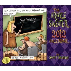 The Argyle Sweater: 2012 Day-to-Day Calendar $12.59