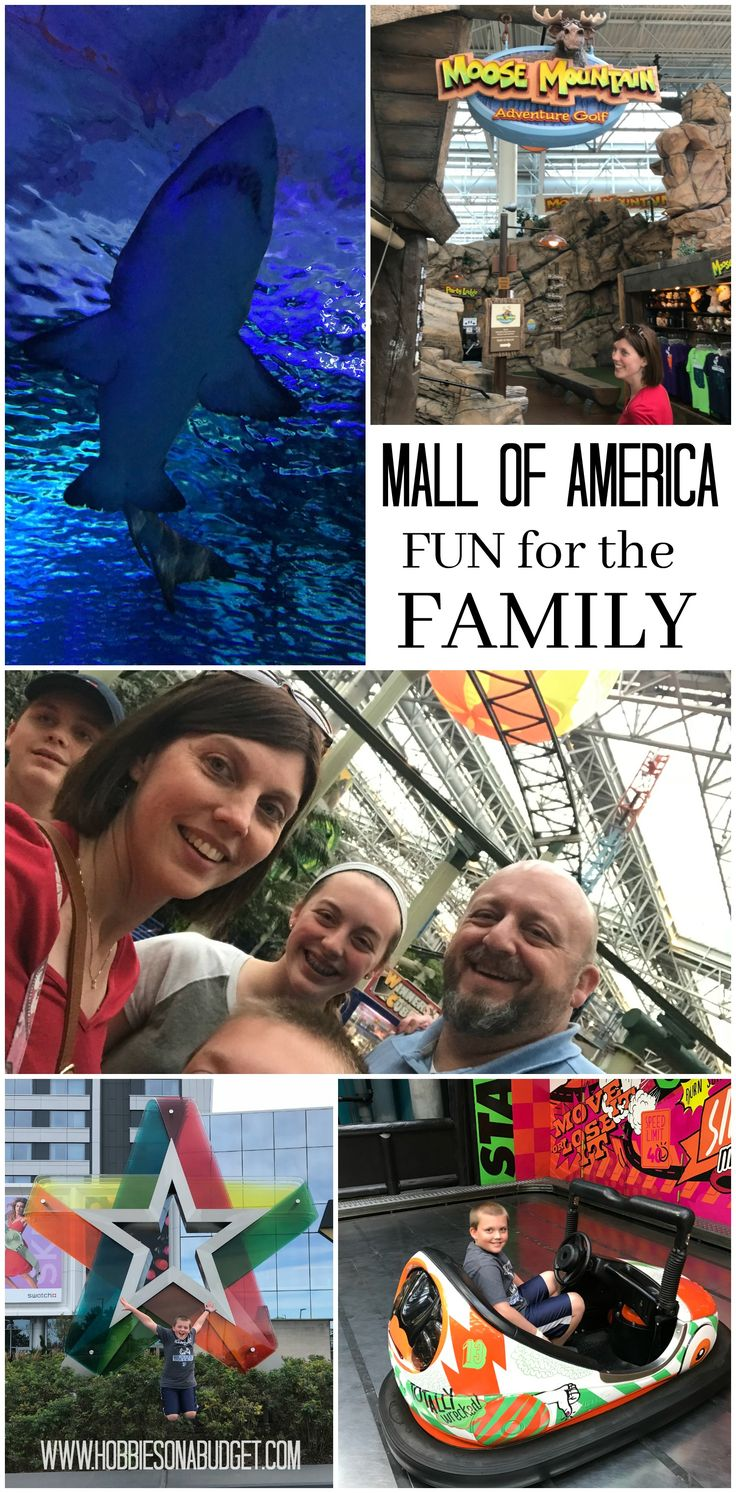 Family Fun Adventures at Mall of America - Nickelodean Universe, SEA LIFE, Moose Mountain Adventure Golf, LEGO, Crayola - all the fun for family adventure!  #williamsonthego (Sponsored)