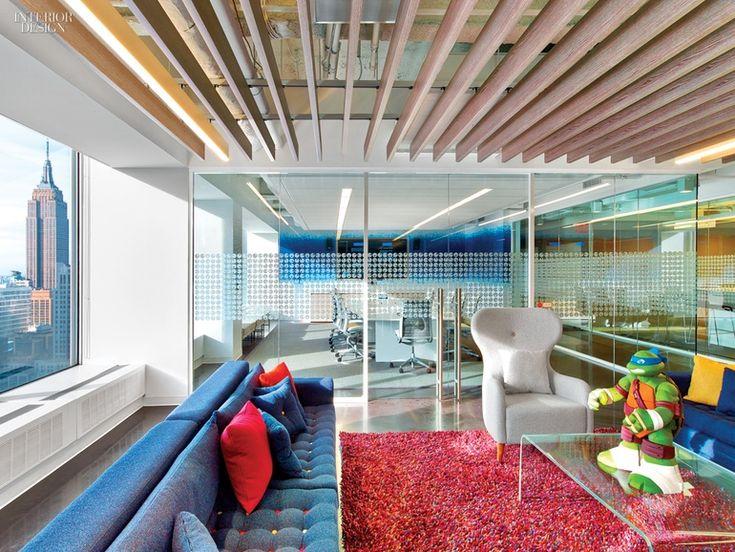 5 Firms Design Viacoms Midtown NYC Headquarters