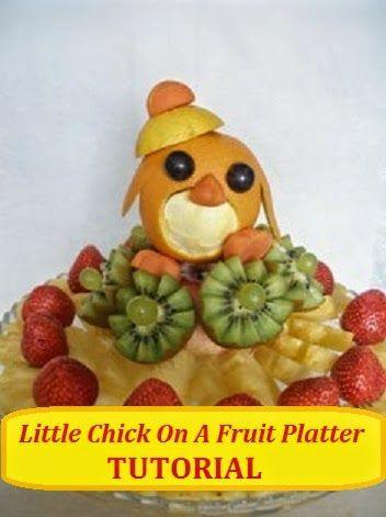 DIY Baby Shoawer fruit decoration